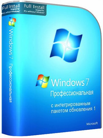 Microsoft Windows 7 Professional SP1 (x86/x64 OEM and RETAIL)