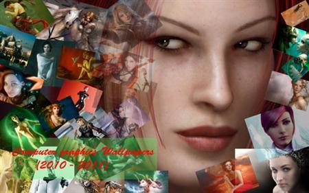 Обои компьтерной графики / Computer graphics Wallpapers (2010 - 2011)