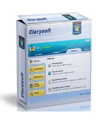 Glary UtilitiesPro 2.34.0.1190 ML/RUS