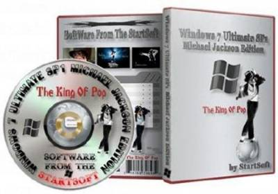 Windows 7 Ultimate SP1 Michael Jackson Edition (x64/RUS/2011)