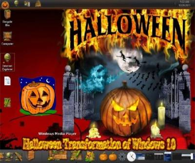 Halloween Transformation of Windows 1.0