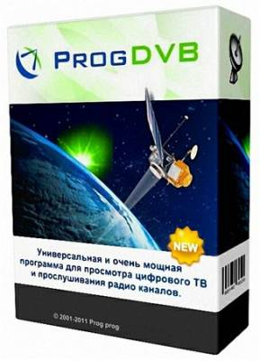 ProgDVB Professional 6.81c Portable (RUS/ML)