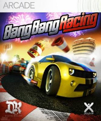 Bang Bang Racing (2012/XBOX360/ENG/Region Free) [JTAG/FULL]