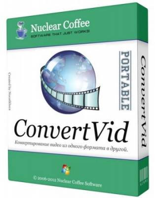Nuclear Coffee ConvertVid v 2.0.0.38 portable (ML/Rus)