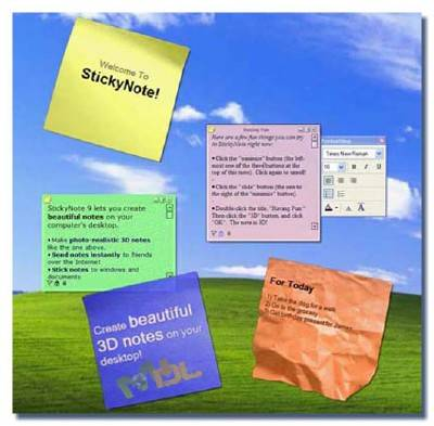 Efficient Sticky Notes 3.10 Build 326 + Portable ML/Rus