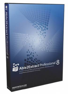 Able2Extract Professional 8.0.24.0 (2012)