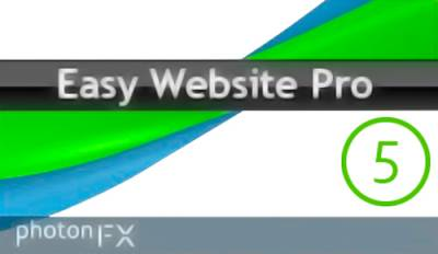 PhotonFX Easy Website Pro 5.0.23 Unlimited (2013)