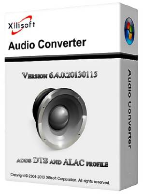 Xilisoft Audio Converter 6.4.0 Build 20130115 + RUS & KEY