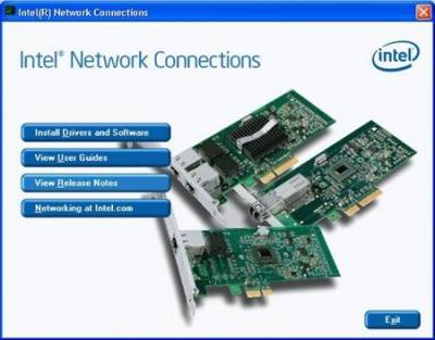 Intel Network Connections Software 18.1