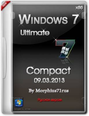 Windows 7 Ultimate x86 Compact 09.03.2013