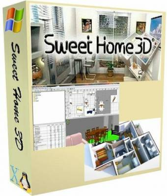 Sweet Home 3D 4.0 + Portable