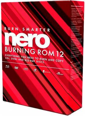 Nero Burning ROM & Nero Express v12.5.6000 RePack by MKN