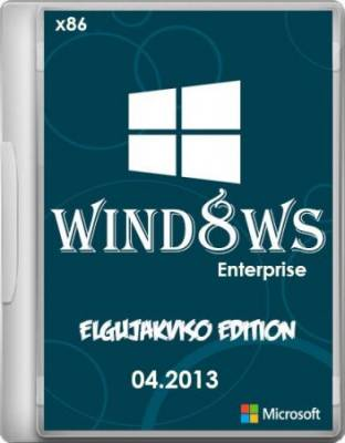 Windows 8 Enterprise x86 Elgujakviso Edition (2013) [Русский]