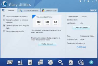 Glary Utilities Pro 3.3.0.112 Portable
