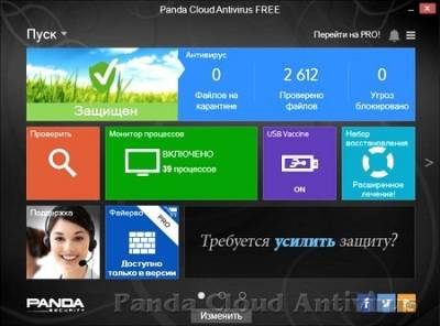 Panda Cloud Antivirus Free 3.0.0 Final