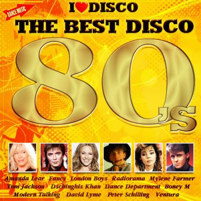 The Best Disco 80 's (2014)