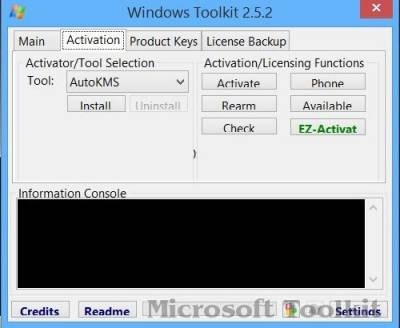Microsoft Toolkit 2.5.2.0 Portable